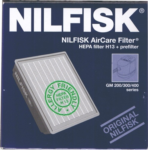 Nilfisk AirCare filter, GM 200-300-400
